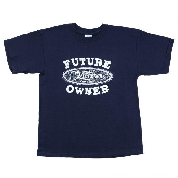 Kids Blue Future Owner T-Shirt
