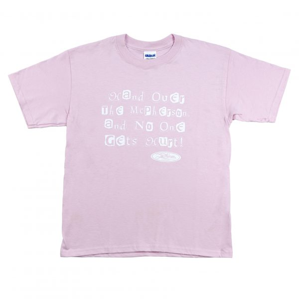 Kids Pink Hand Over T-Shirt