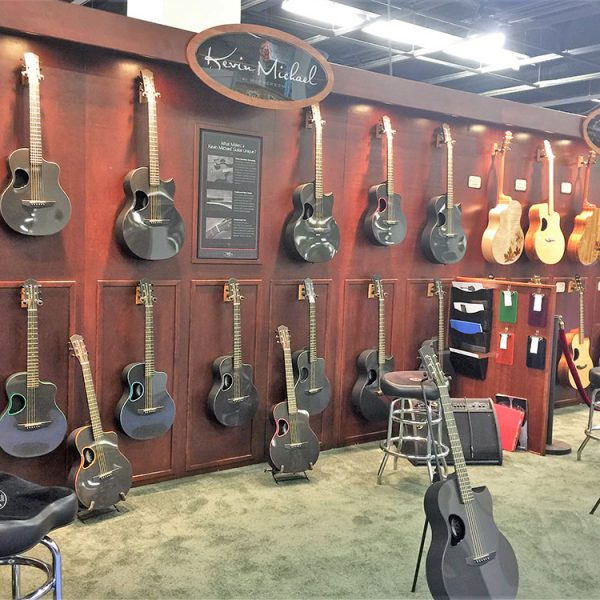 """Our very own """"superstar"""", Tony being interviewed by Premier Guitar. I can say that he has his hands on every instrument we make."""